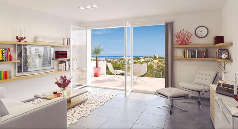 Riviera r sidences antibes nouvelle r sidence - Decoration eclectique appartement centre ville floride ...