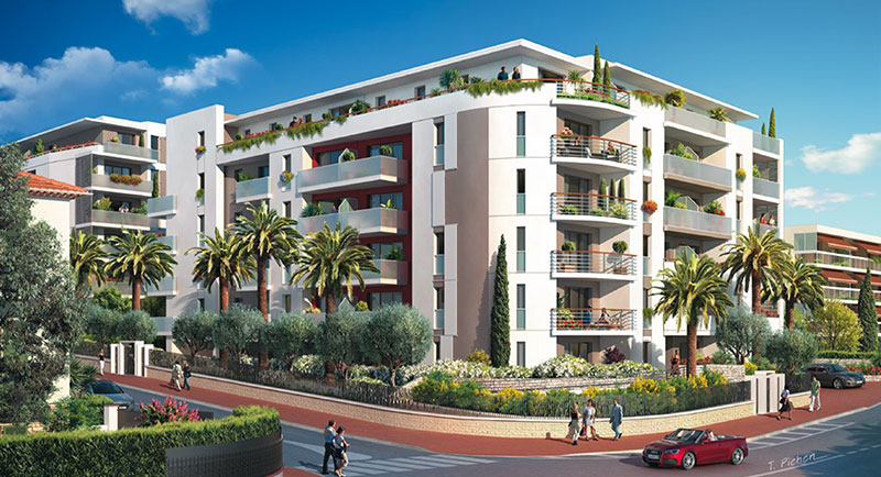 Riviera r sidences antibes nouvelle r sidence for Achat maison antibes juan les pins