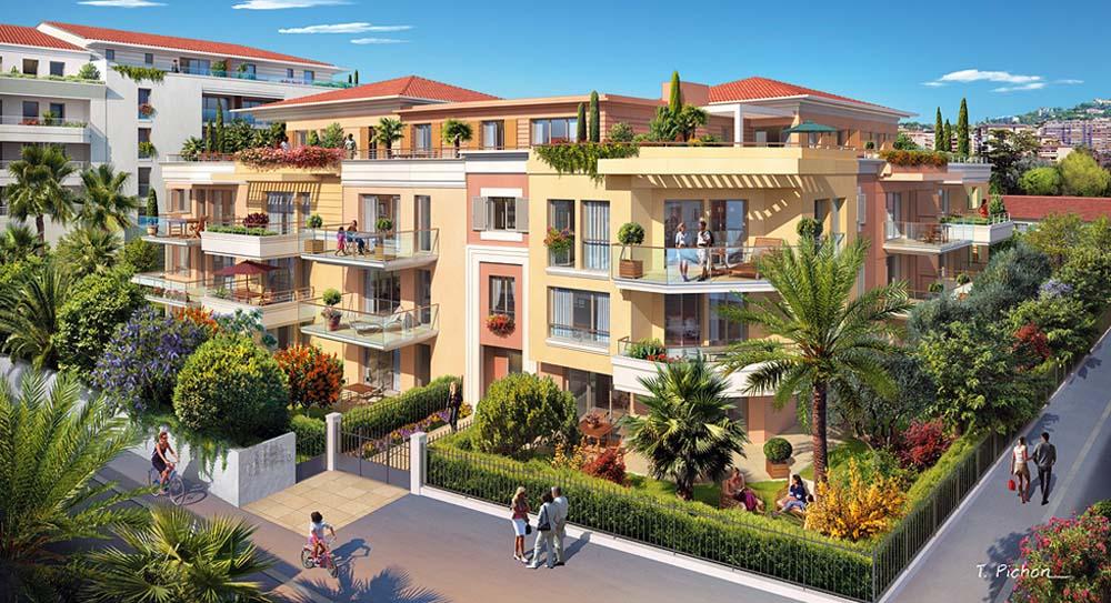 Riviera r sidences cannes un emplacement de qualit for Le jardin secret cannes