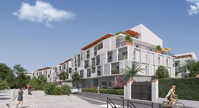 Riviera r sidences cannes appartement au calme avec for Achat maison cannes