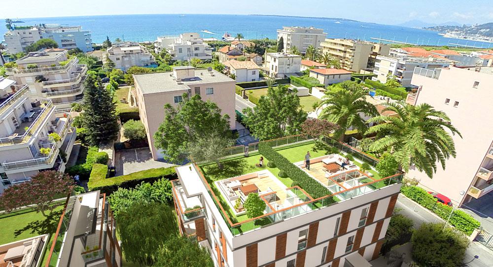 Riviera r sidences juan les pins bel appartement 100 for Achat maison antibes juan les pins