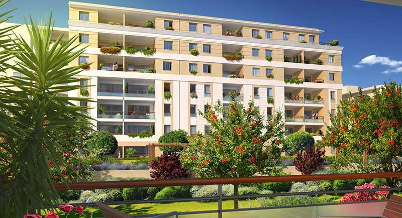 Riviera r sidences juan les pins appartement au calme for Piscine de antibes