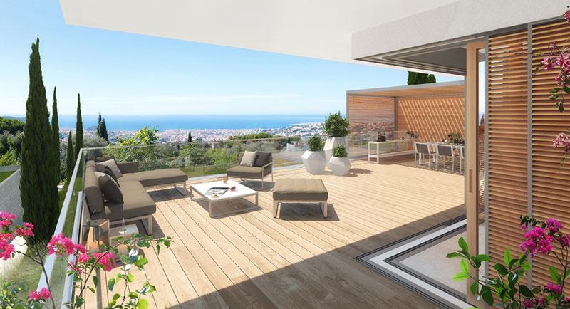 Riviera r sidences nice une l gante et unique for Appartement bordeaux avec piscine