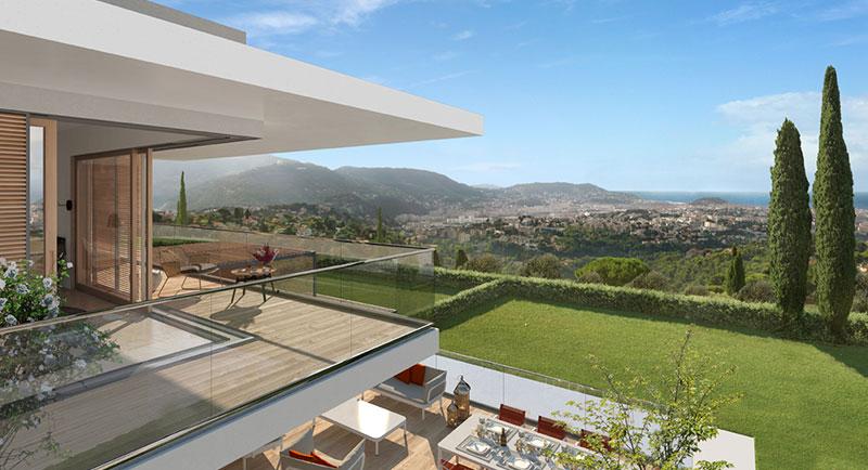 Riviera r sidences nice une l gante et unique for Acheter une maison a nice