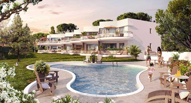Riviera r sidences saint rapha l bel appartement avec for Piscine saint raphael