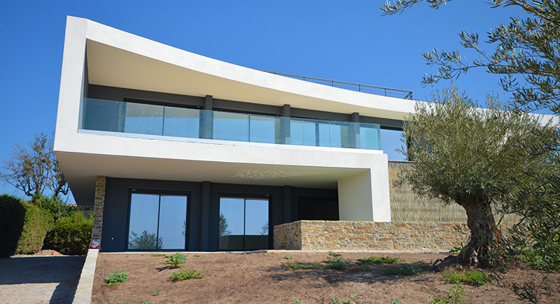 riviera r sidences saint rapha l luxueuse villa avec vue mer panoramique. Black Bedroom Furniture Sets. Home Design Ideas