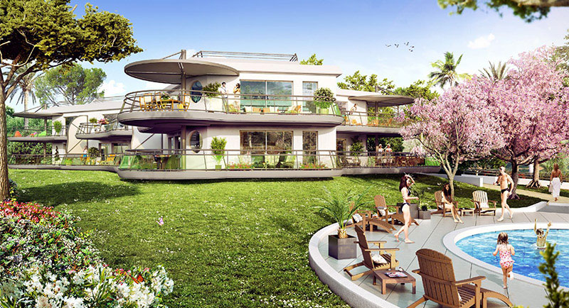 saint raphael38 real estate frence appartement valescure golf 01facade