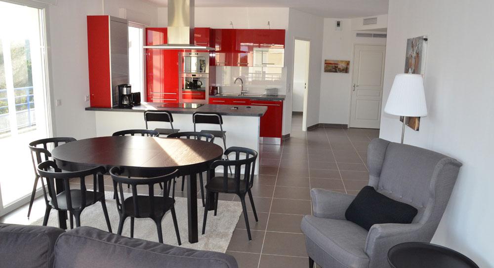 Riviera r sidences sainte maxime appartement de charme - Salon de jardin aluminium sainte maxime ...