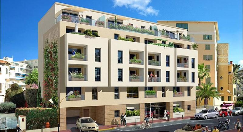 Juan les Pins - Smuk lejlighed perfekt beliggende tæt på havet og byens centrum