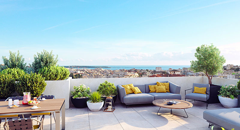 Le Cannet - Beautiful apartment with large terrace