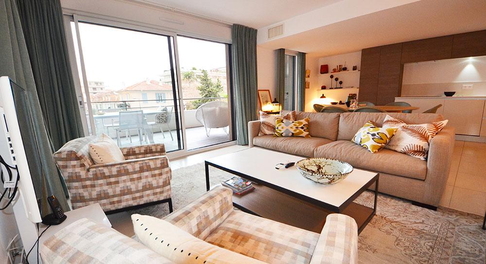 Cannes - Smuk lejlighed i en luksuriøs bolig kun få skridt fra centrum