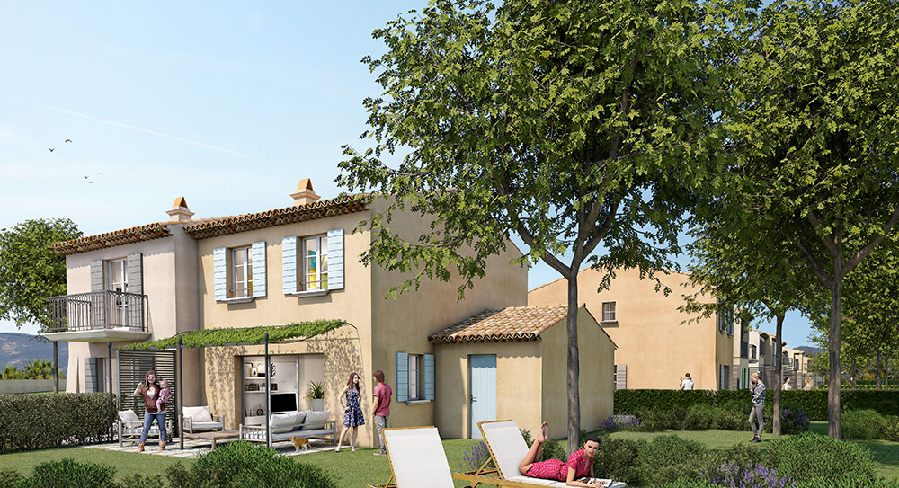 Grimaud - Beautiful villa of 2 or 3 bedrooms, with its private garden