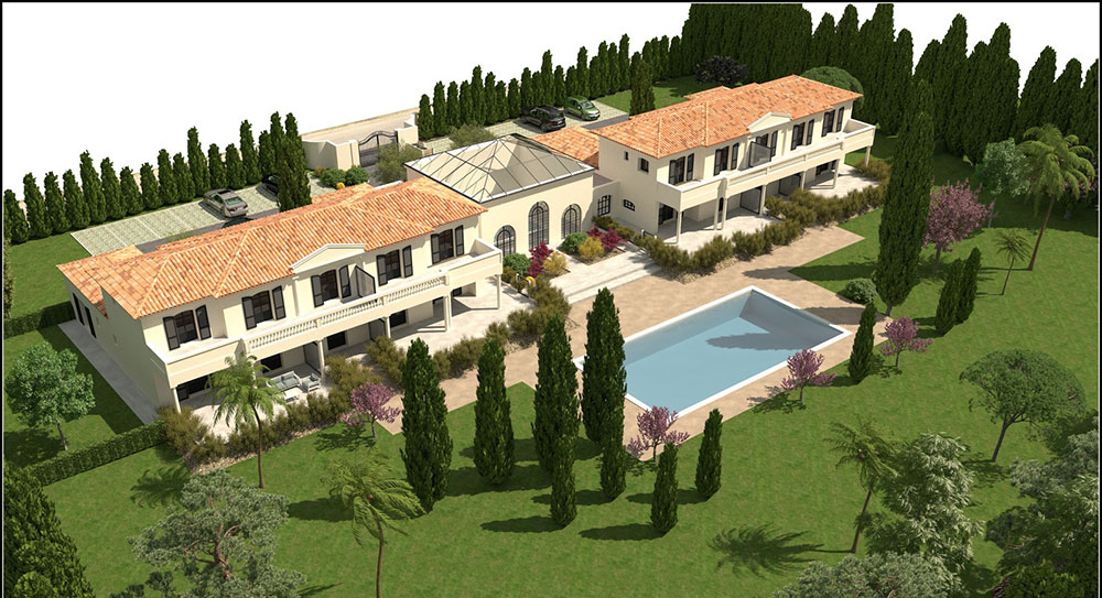 Grimaud - Beautiful apartment in luxury residence with swimming pool