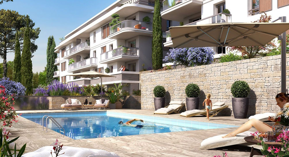 Mougins - A residence filled with tranquility in a green area