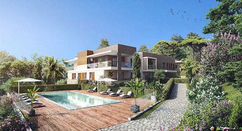 Mougins - Piękna rezydencja w zielonej oazie spokoju