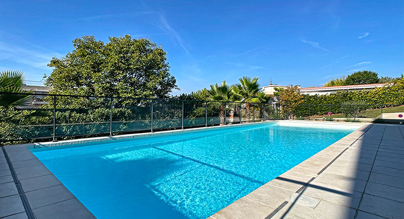 Nice - Nice apartment with a sea view in a residential area