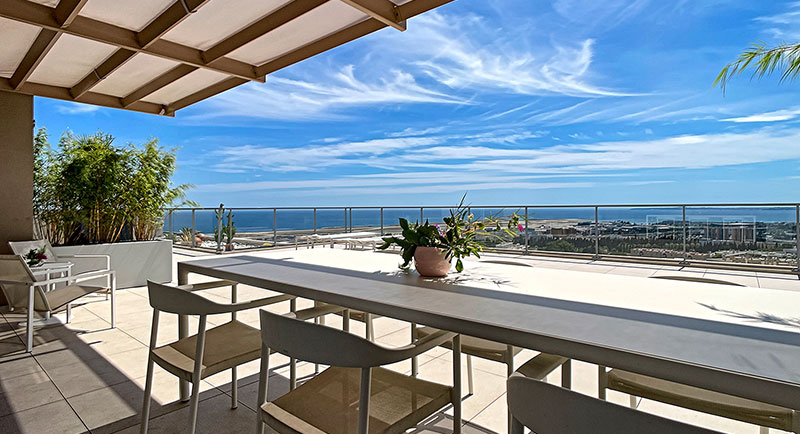 Nice - Beautiful apartment with a magnificent sea view