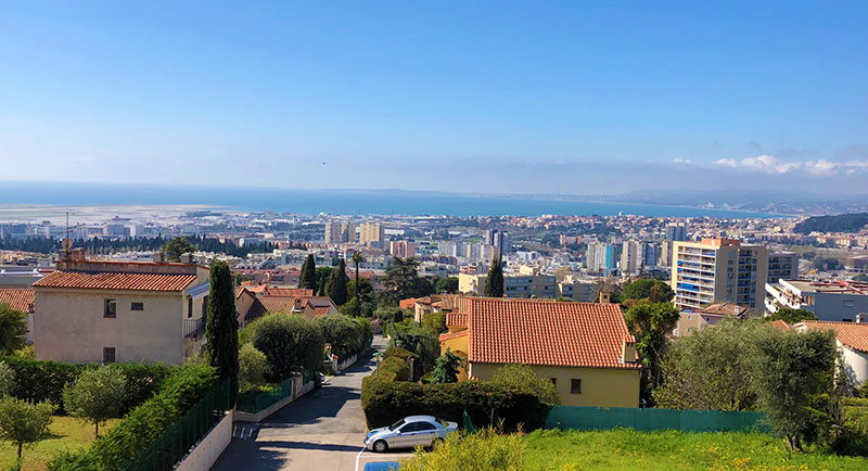 Nice - Superb two bedrooms apartment with panoramic sea view