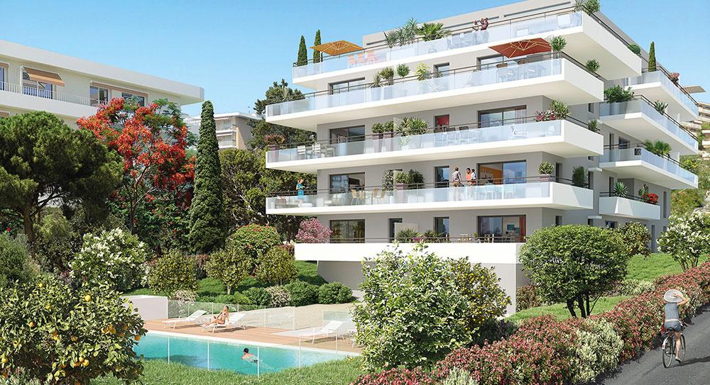 Nice - Piękny apartament z zapierającym oddech widokiem na morze