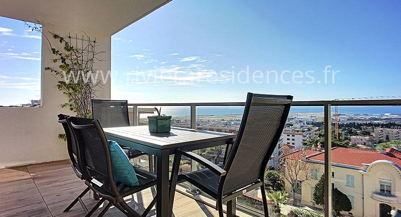 Nice -  Vacker lägenhet med en magnifik havsutsikt