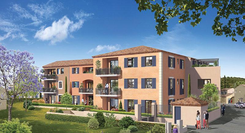 Plan de la Tour - In the bay of Saint Tropez... Authentic stone residence of modern apartments