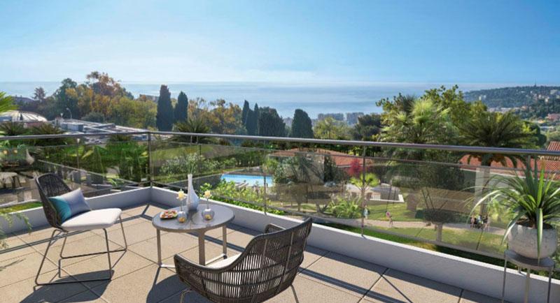 Roquebrune Cap Martin - Et paradis mellem hav og jord, lejligheder med storslået havudsigt