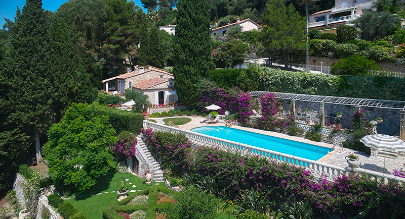 Saint Paul de Vence - Beautiful 250 SqM villa with swimming pool and sea view