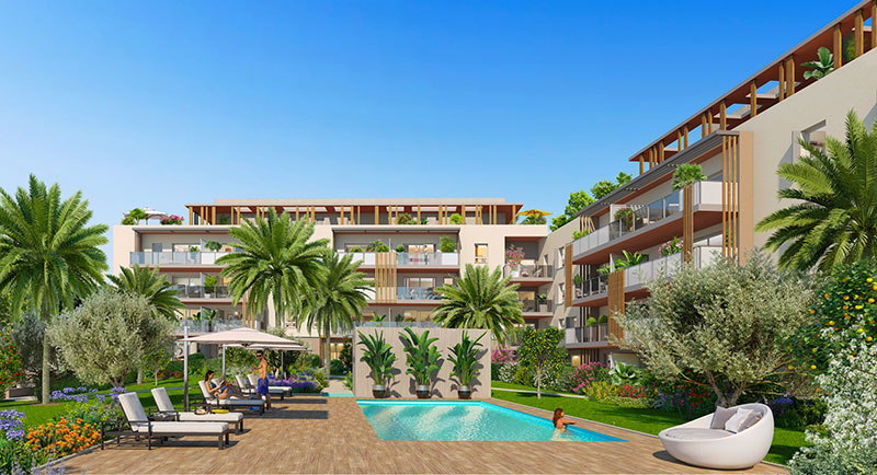 Saint Raphael - Beautiful apartment with terrace just few steps from the sea