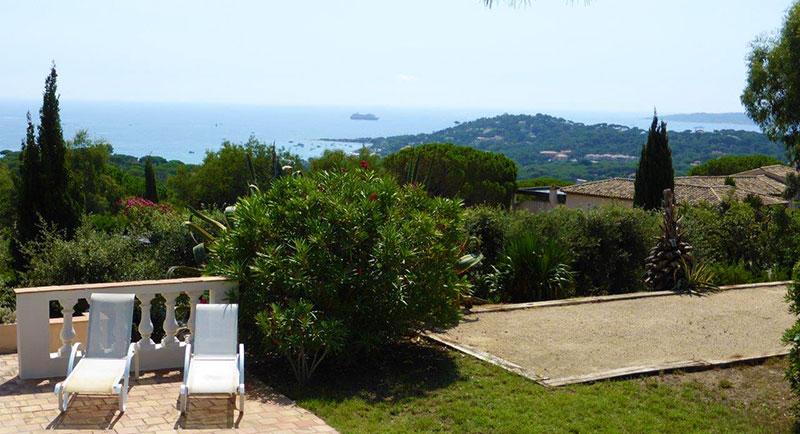 Sainte Maxime - Beautiful, provencal villa with nice sea view