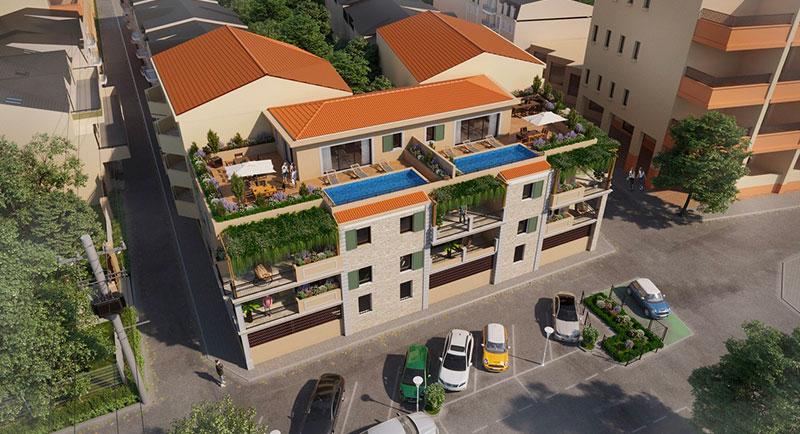 Sainte Maxime - Modern top floor apartment with a sea view