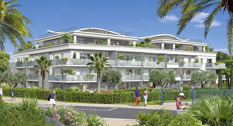 Buy apartment France Cagnes sur Mer city center French Riviera